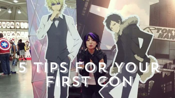 5 Tips For Your First Con